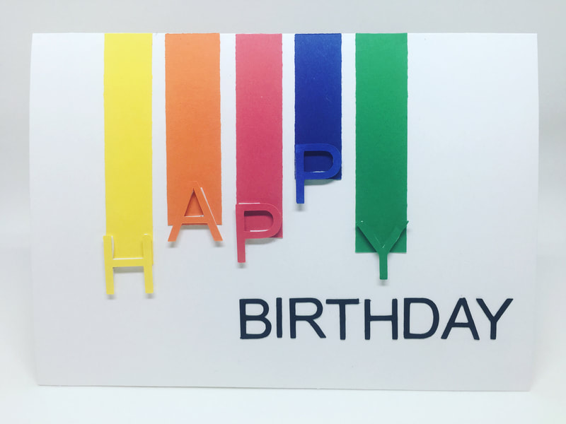 Birthday Card Collection by Pulp Creations MD