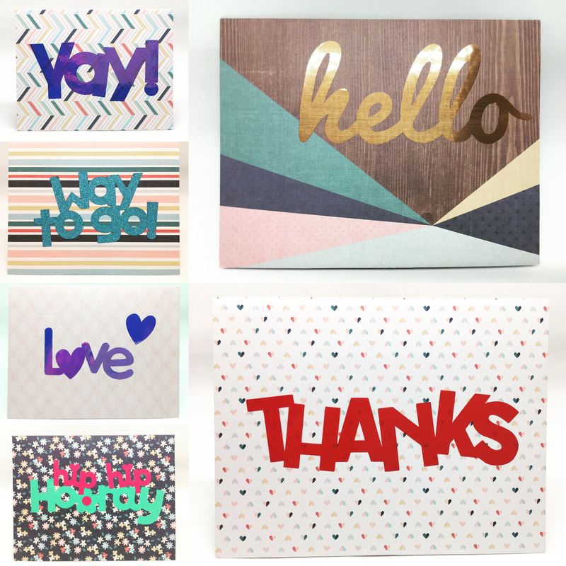 Blank Note Card Sets by Pulp Creations MD
