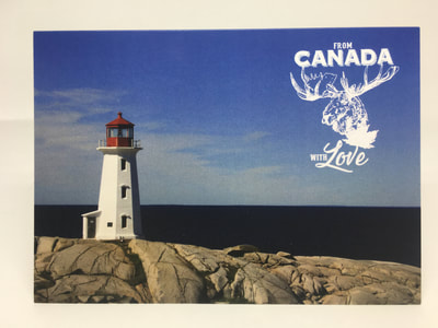 Peggy's Cove Card by Pulp Creations MD